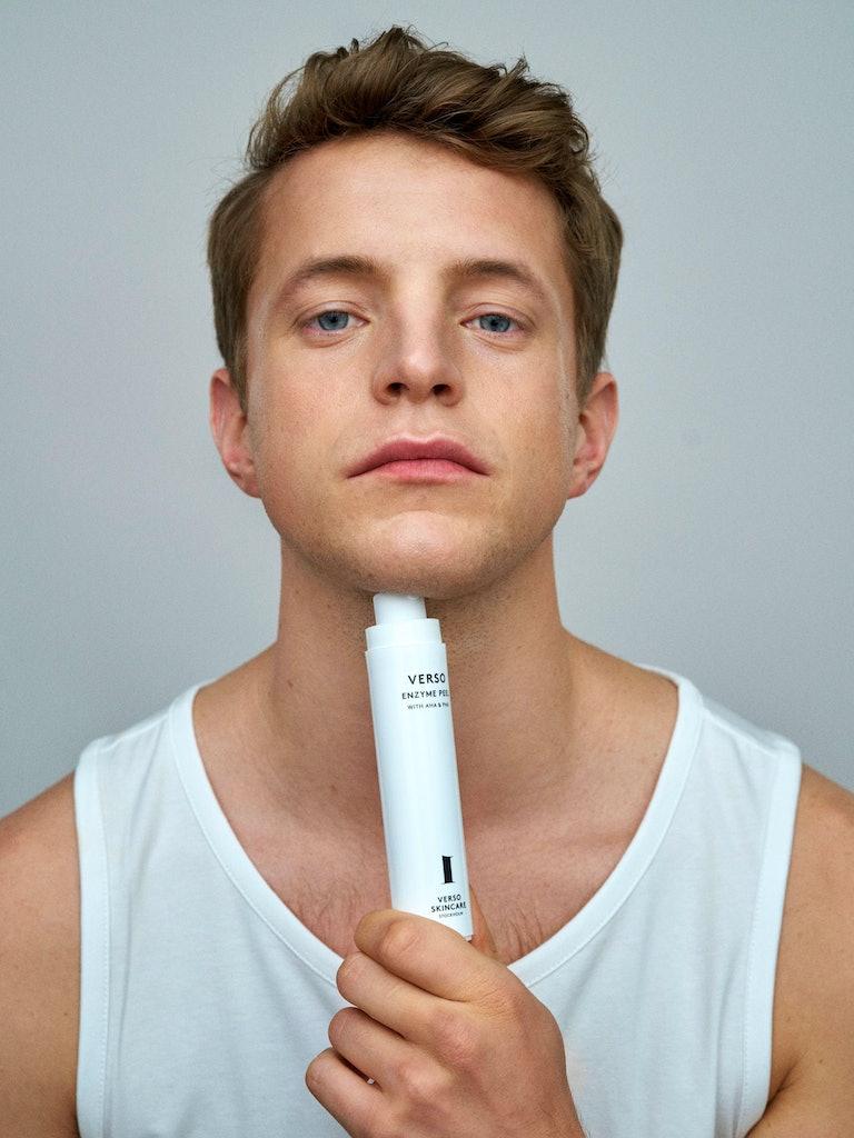 Lars Fredriksson, founder of Verso Skincare