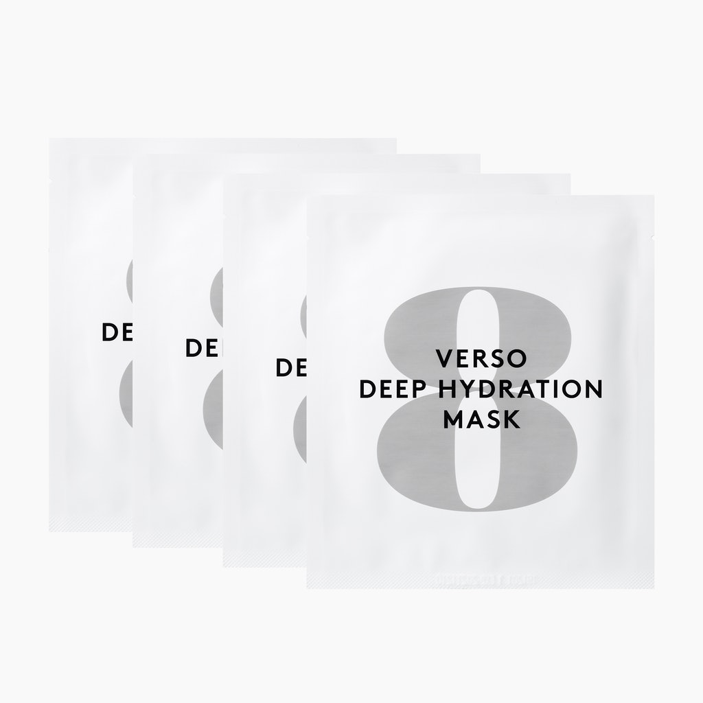 Verso Deep Hydration Mask 4 pack